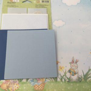 Kaarten, enveloppen, vellum en papiersoorten ,papierkit.