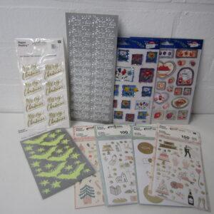 Stickers, tape en versiering