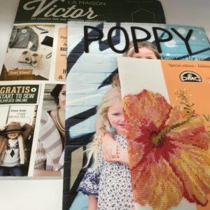 Boeken : naaien, borduren ......